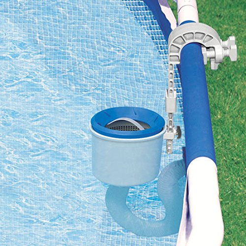 Basket Swimming Pool Skimmer (Intex Deluxe Wall Mount Surface Skimmer)