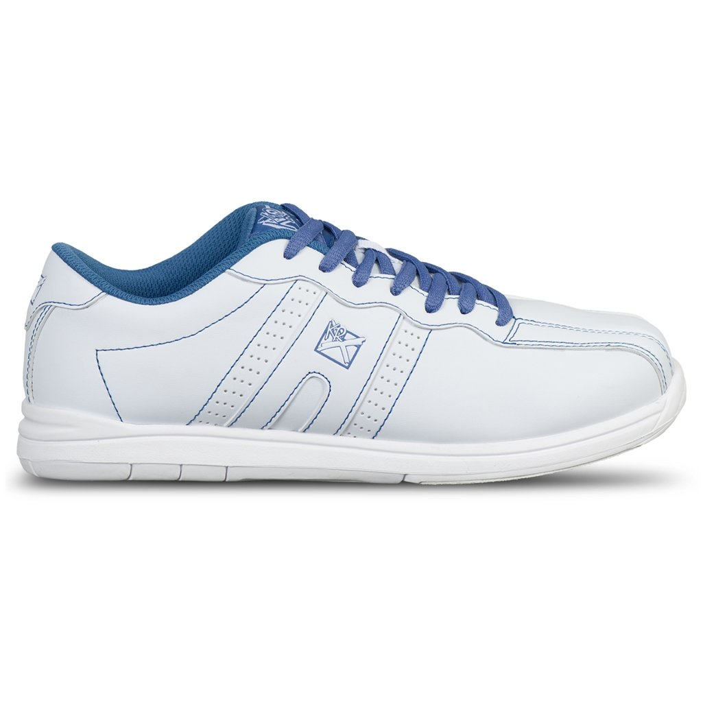 KR Strikeforce Women's O.P.P Bowling Shoes, White/Periwinkle, Size 8