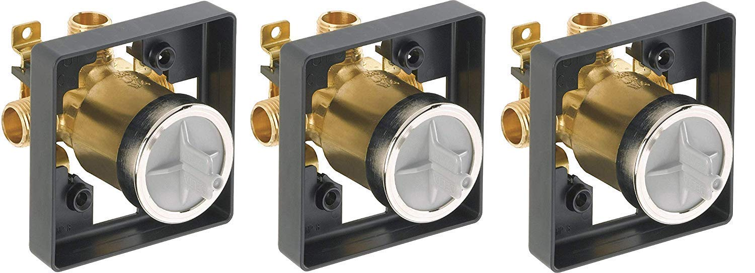Delta R10000-UNBXHF Multichoice Universal Shower Only Valve Body (Pack of 3) by DELTA FAUCET