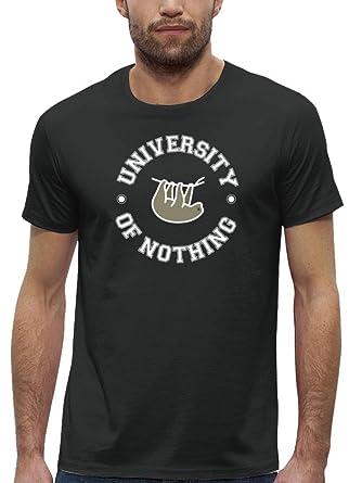 dd8d7b3b521db9 Faultier Premium Herren T-Shirt Aus Bio Baumwolle University of Nothing  Stanley Stella  Amazon.de  Bekleidung