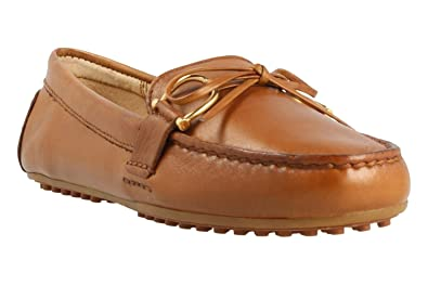 24676d878c5 Image Unavailable. Image not available for. Colour  Ralph Lauren Moccasins  ...