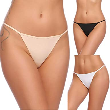 Amazon.com: MRxcff 3pcs/Lot - Bragas para mujer, sexy ...