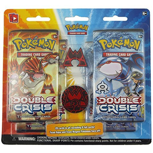 Pokémon Trading Card Game: Double Crisis Pin Blister-Team Magma Version