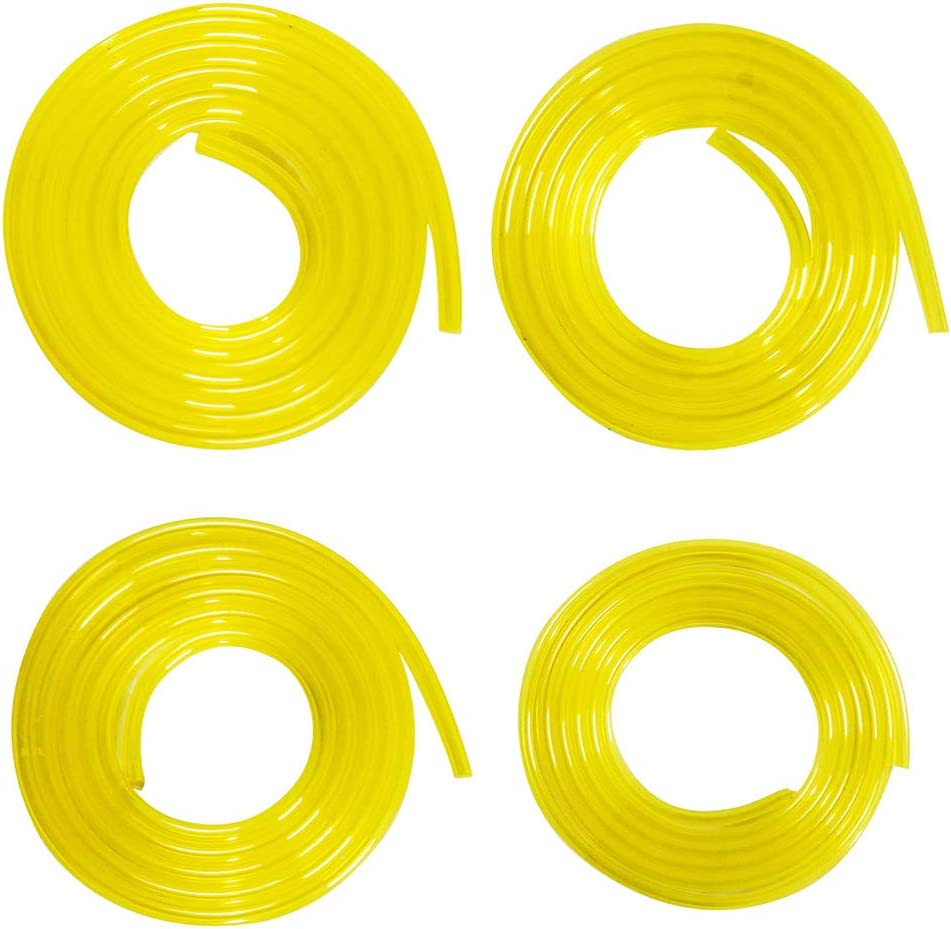 Zemoner 6 Metros Manguera de combustibl con 4 tamaños (1,5 Metros Cada uno) 2 mm x 3,5 mm, 3 mm x 6 mm, 3 mm x 5 mm, 2,5 mm x 5 mm para Motosierra común de Motor: Amazon.es: Jardín