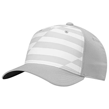 666d950e371 Amazon.com   Adidas Printed Colorblack Golf Hat BC5324 White Grey ...