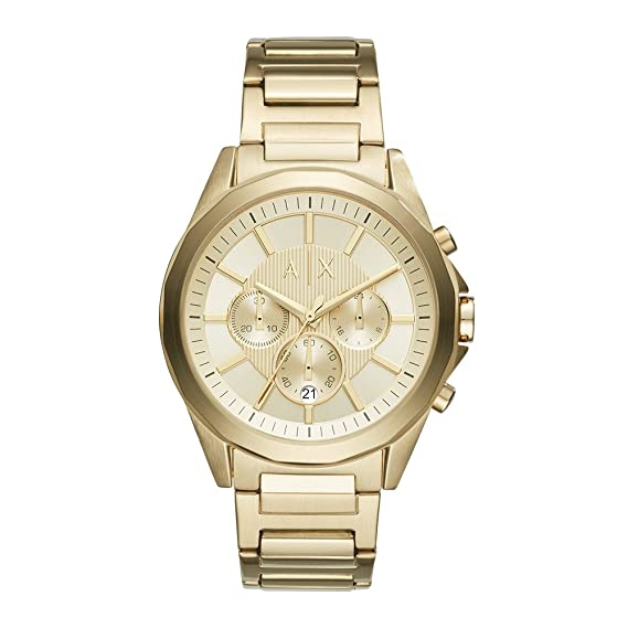 Amazon.com: Armani Exchange Mens AX2602 Gold Watch: Armani Exchange: Watches