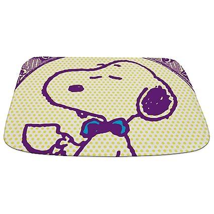 CafePress – Snoopy Glamour – decorativo – alfombrilla de baño, alfombra de baño de espuma