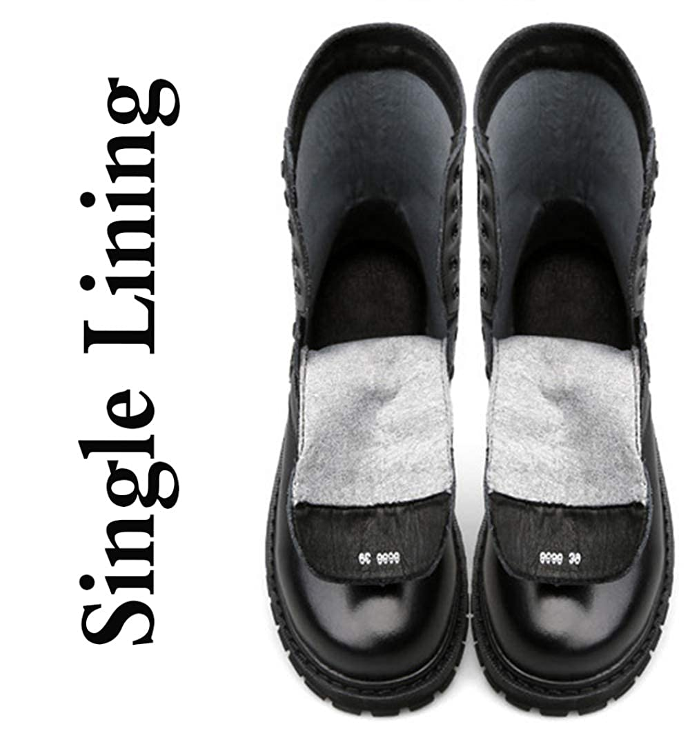 Herrenmode Martin Stiefel Warmfutter Wasserdichte Stiefel Chelsea Chelsea Chelsea Stiefel Schneestiefel,schwarz1-45EU ede77d