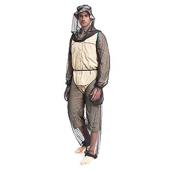 Amazon.com : Lixada Lightweight Summer Bug Wear Mosquito Free Suit ...
