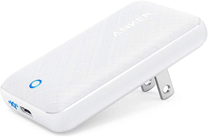 Anker PowerPort Atom III Slim (PD対応 30W USB-C 急速充電器)【世界最薄デザイン/PSE認証済/PowerIQ 3.0搭載 / Power Delivery 対応/折りたたみ式プラグ】 iPhone 12 / 12 Pro / 11 / 11 Pro / 11 Pro Max/XR、MacBook Air、その他USB-C機器対応 (ホワイト)