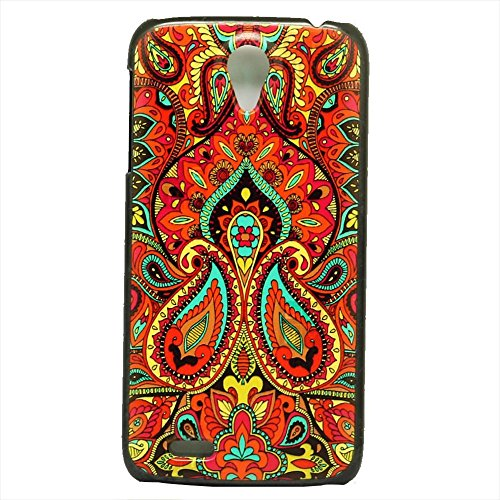 WEAPOWER(TM)Fashion Brand For Lenovo S820 Case Beautiful Color Tribe Skin Design Durable Hard Plastic Mobile Phone Protective Case Cover