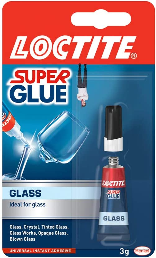 Loctite Super Glue -Glass - 3ml Tube