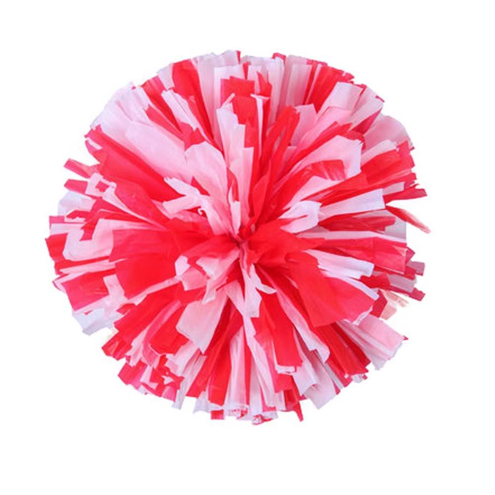 Black Temptation Cheerleading Flores de Mano Gimnasia Flower Ball Escuela para niños Dance Square Dance Props #15