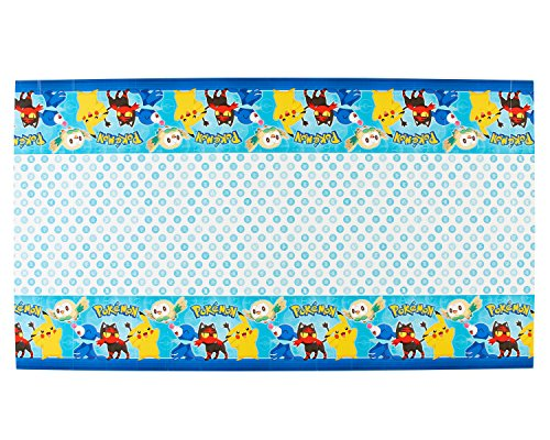 American Greetings Pokémon Plastic Table Cover