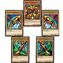 YuGiOh Exodia the Forbidden One Full Card Set Yugi Legendary Decks Set Ultra Rare by Yu-Gi-Oh!