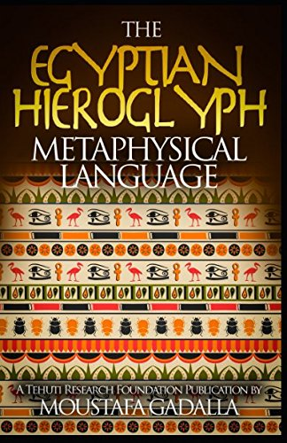 The Egyptian Hieroglyph Metaphysical Language