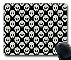 alien smiley Custom Mouse Pad Gaming Mousepad in 220MM*180MM*3MM -212099 by runtopwell