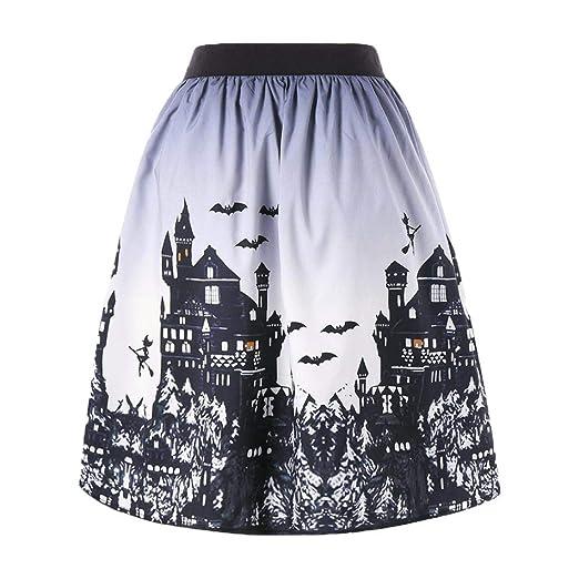 da2f4005cc20 Amazon.com: Usstore Dresses for Women Halloween Day Ombre Castle ...
