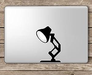 Pixar Lamp Disney - Apple MacBook Laptop Vinyl Sticker Decal, Die Cut Vinyl Decal for Windows, Cars, Trucks, Tool Boxes, laptops, MacBook - virtually Any Hard, Smooth Surface