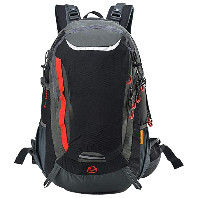 Hiking Rucksack Camping Daypack Pack Bag with Solar Power Board ...