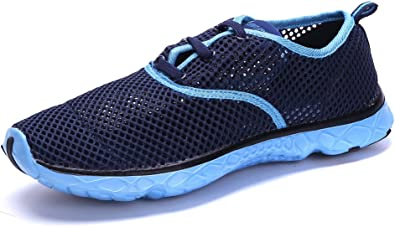 Womens Water Sneakers Shoes - Ladies Waterproof Watershoes Beach Pool Exercise Yoga