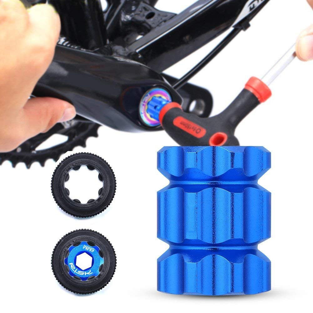 Bike Crank Removal Tool Crank Extractor Puller Tool Mountain Road Bike Bicycle Bottom Bracket Removal Tools Cycle Removing Installation Repair Tool for XT XTR R Series