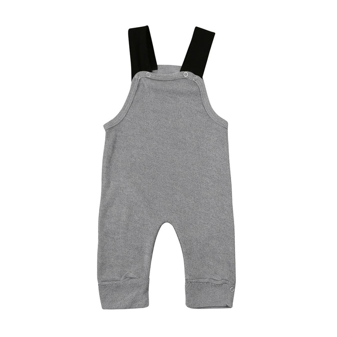 87d295440a78d Sikye Little Boy Overalls Newborn Baby Knitted Rompers Jumpsuit Sleeveless  Outfits