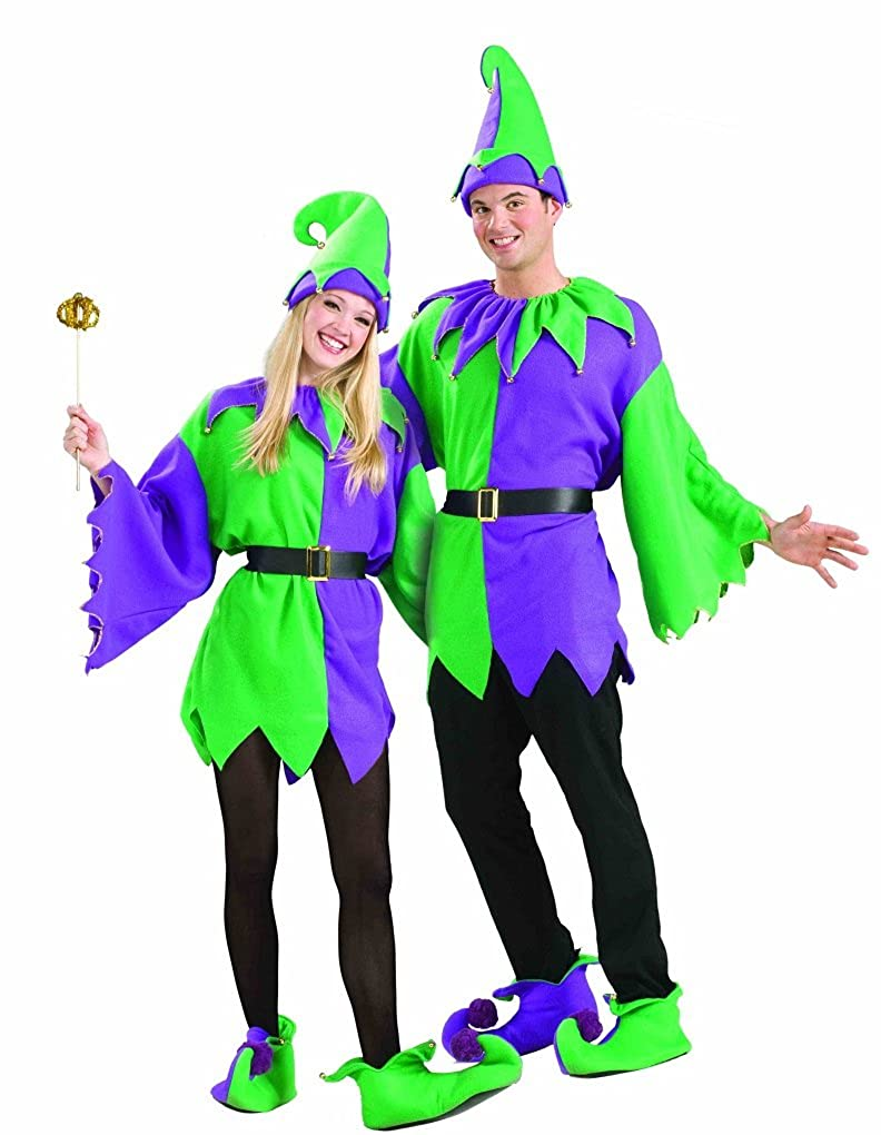 Amazon.com: Mardi Gras de adultos Unisex Jolly – Disfraz de ...