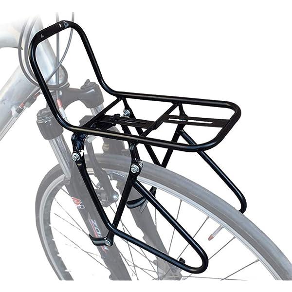 JXS-outdoor Delante del Estante del Pannier - Bicicletas de ...