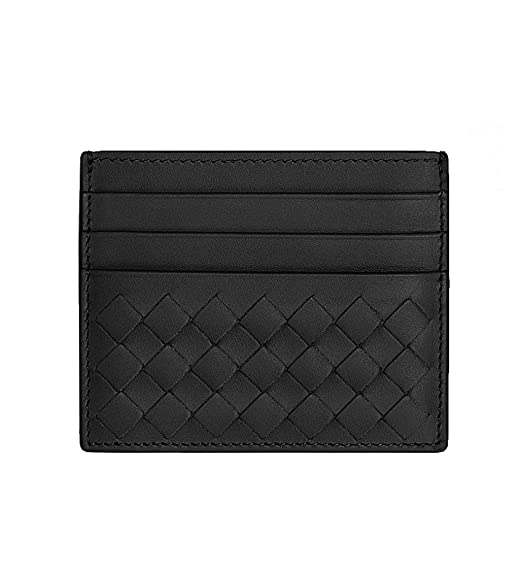 0903863302600 Image Unavailable. Image not available for. Colour: Bottega Veneta Wallet  Intrecciato Leather Credit Card ...
