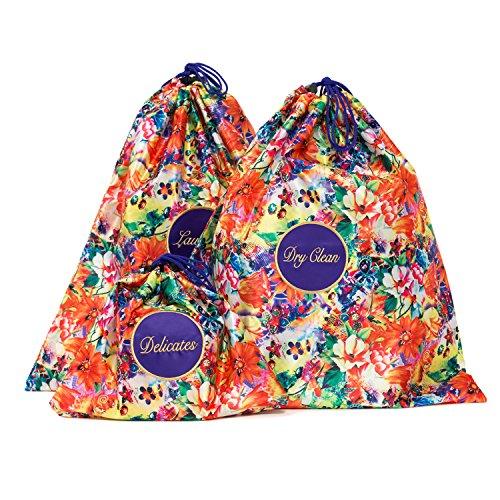 PurseN Travel Laundry Bags (Paradise Floral)