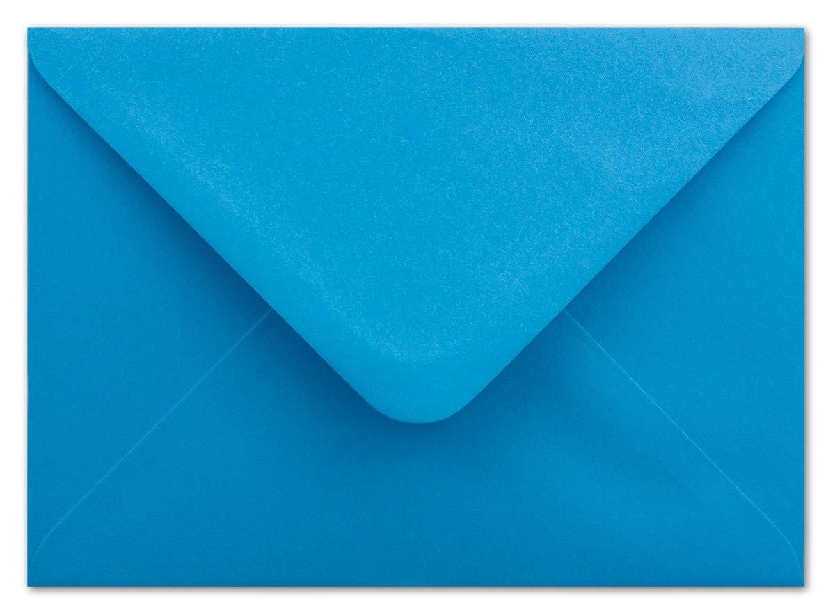 500 500 500 DIN C6 Briefumschläge Mintgrün - 11,4 x 16,2 cm - 80 g m² Nassklebung spitze Klappe - aus der Serie Colours-4-you - Glüxx-Agent B07PGV1MQ5 | Viele Sorten  a5b407