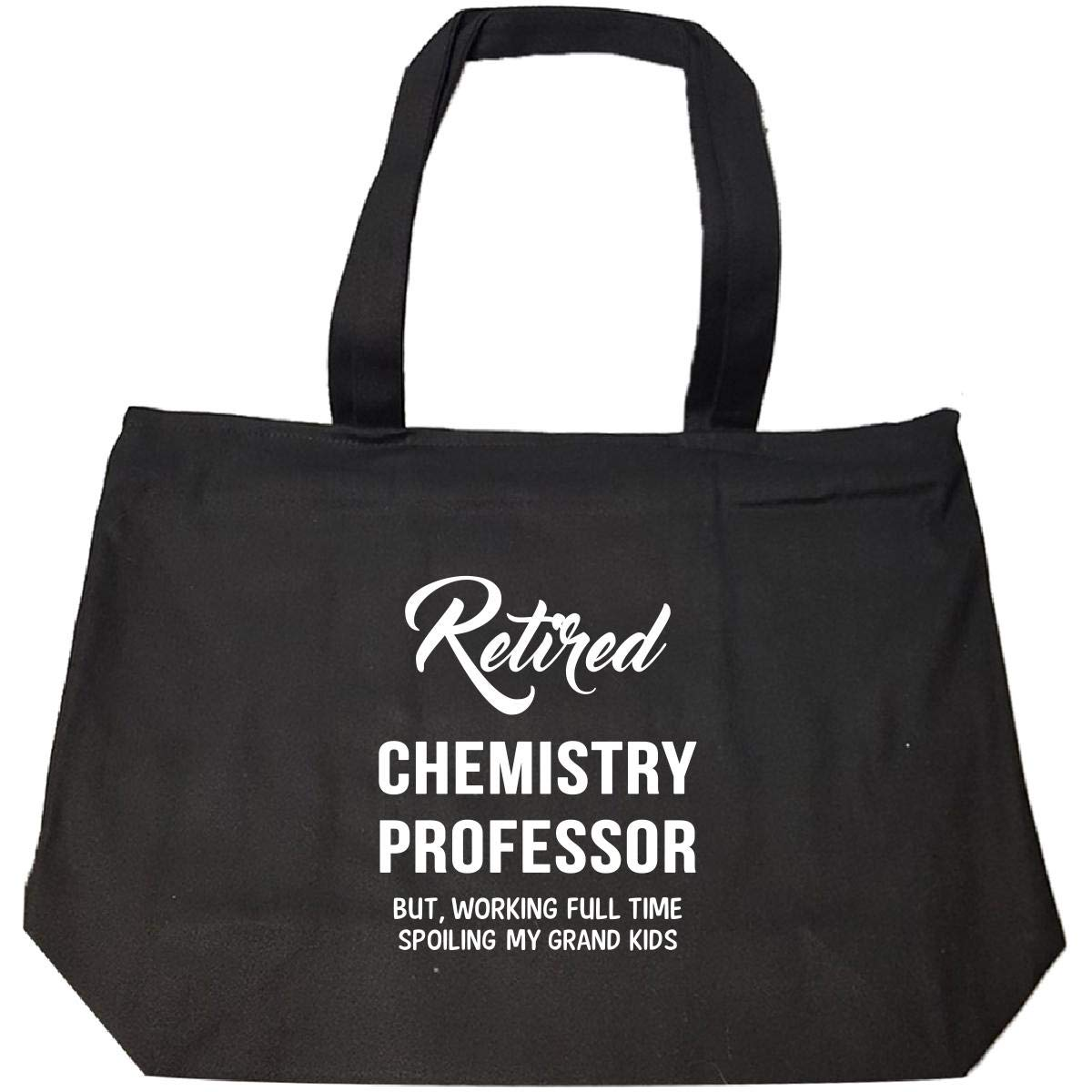 Retired Chemistry Professor Spoiling Grand Kids - Tote Bag With Zip
