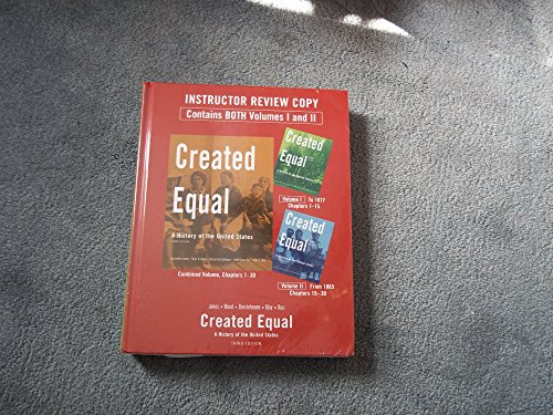 Created Equal: A History of the United States