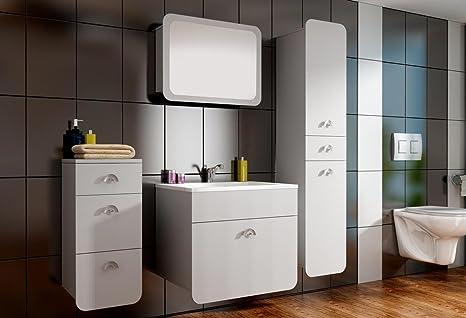 Set Da Bagno Moderno : Homedirectltd dora set mobili da bagno moderno lavello pannello