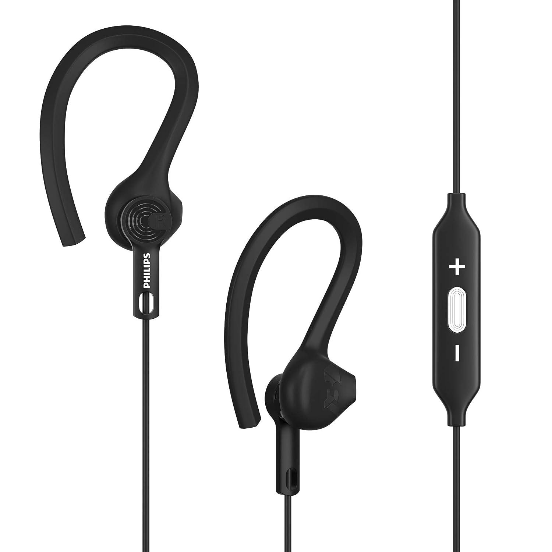 22ee6307232 Amazon.com: Philips ActionFit Wireless Bluetooth Sport Earhooks - Black  (SHQ7800BK/27): Home Audio & Theater