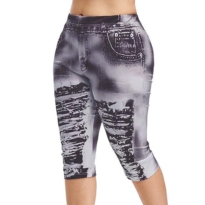 Amazon.com: MURTIAL - Pantalones de yoga para mujer de ...