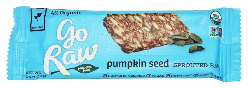 Go Raw - Organic Sprouted Bar Pumpkin Seed - 0.4 oz.