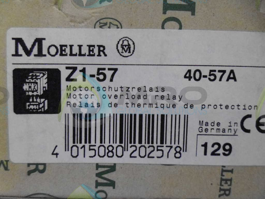 KLOCKNER MOELLER Z1-57 OVERLOAD RELAY NEW IN BOX