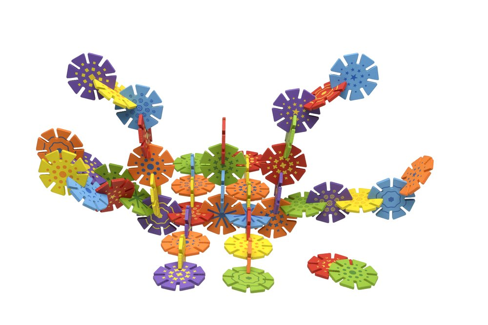 ConnectZit 3-D Construction Puzzle Set The Original Toy Company