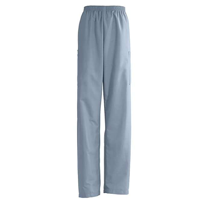 33df8a5750c Image Unavailable. Image not available for. Color: Medline AngelStat Unisex  Elastic Waist Cargo Scrub Pant ...