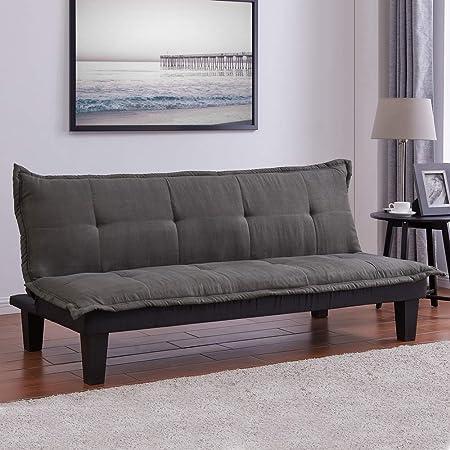 Amazon.com: Homegear Furniture Sofá cama reclinable de ...