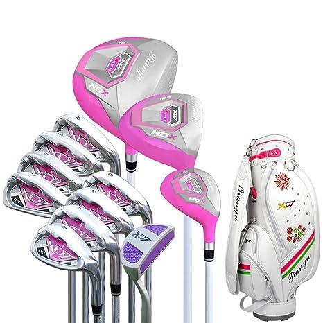 DRHYSFSA Hierro de Golf Club de Golf de 12 Piezas Juego Club ...