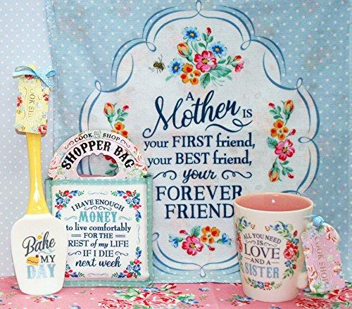 Cook Shop 207030002A Daughter Tea Towels Yolk Yellow