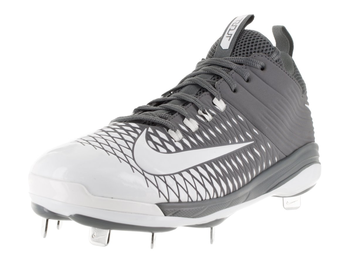 NIKE Mens Trout 2 Pro Baseball Air Cleats B010P0QLSE 9.5 D(M) US|Cool Grey/Wolf Grey/Pure Platinum/White