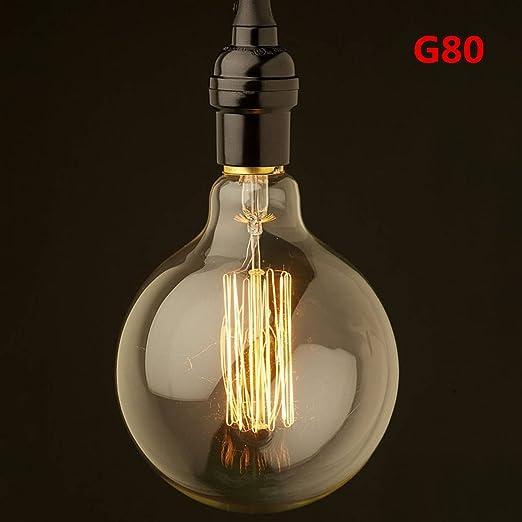 Vintage G95 E27 à Vis Edison Globe Lighting Ampoules 60 W antique Lampe à Incandescence