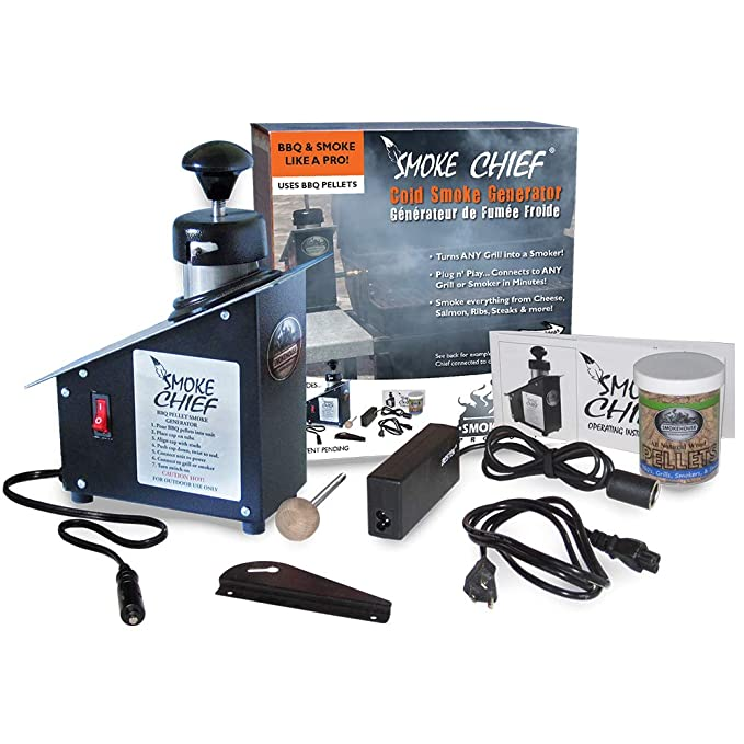 Smoke Chief Cold Smoke Generator – The Cold Smoke Generator That Can Be Powered By a 12-Volt DC Outlet
