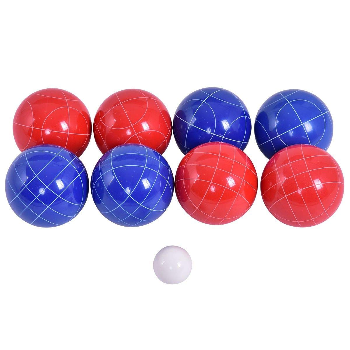 Aromzen Backyard Bocce Ball Set with 8 Balls