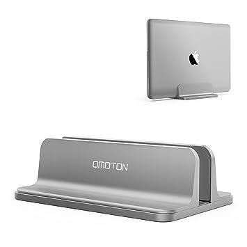 OMOTON Soporte Vertical Portátil, Movilble/Adjustable Soporte Laptop para Macbook Air/Pro,