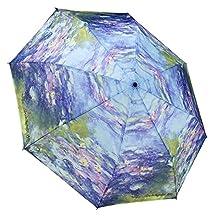MONET Water Lilies Folding Umbrella